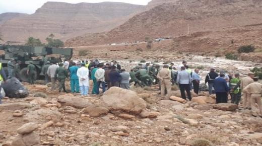 حادث انقلاب حافلة يودي بحياة 6 اشخاص وجرح اخرين