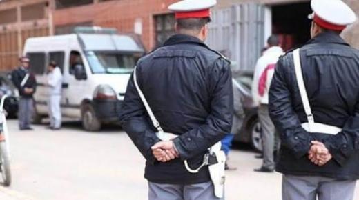 اشتوكة:سقوط شخص مسجل خطر روع ساكنة المدينة بتعدد جرائم