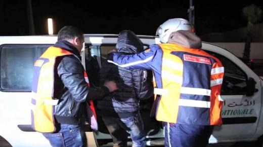 اكادير : فرقة الدراجين تسقط متورطين في اعمال السرقة والاعتداء وترويج الممنوعات باحياء متفرقة