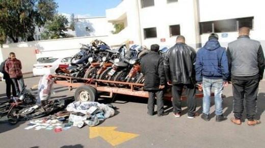اقل من أسبوع … حجز 20 موطور وتقديم 35 شخص للعدالة في القليعة