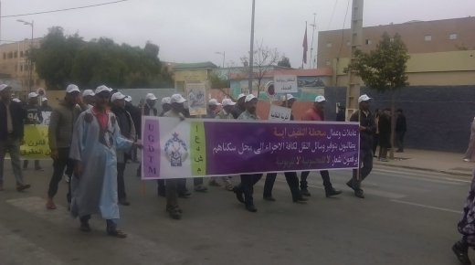 بالصور : فاتح ماي بأولاد تايمة..مسيرات عمالية وتجمعات خطابية ومطالب بتحسين الأوضاع المادية والاجتماعية