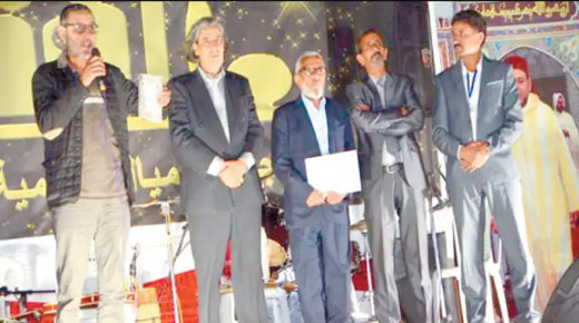 تكريم الشاعر محمد الحنفي والمخرج عبد العزيز أوالسايح خلال ملتقى «ميال» بتارودانت