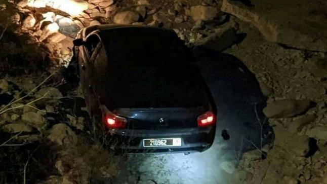 إنقلاب سيارة تابعة لمجلس عمالة أكادير اداوتنان بتغازوت