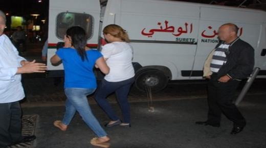 إعتقال أجانب رفقة قاصرات بشقة في أكادير
