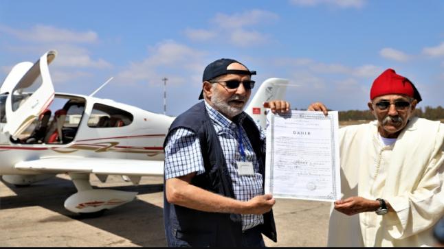 طاقم مغربي يعيد إحياء أول رحلة للبريد الجوي تخليدا للذكرى المئوية لتأسيسه