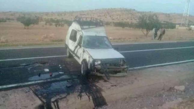 مقتل شخص في حادثة سير خطيرة نواحي تارودانت