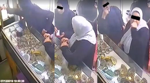 """انزكان : بطلات شريط فيديو """"سرقة محل المجوهرات"""" في قبضة الامن بعد تدقيق البحث"""