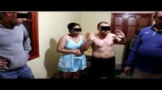 إعتقال عشيقين داخل منزل في سيدي بيبي
