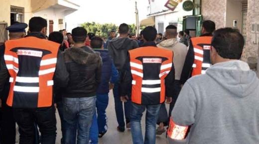مطاردة بوليسية بعد اعتراض سبيل جندي في لابيركولا.