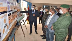سيدي إفني : عامل الإقليم يتفقد بعض مراكز إجراء امتحانات الباكالوريا.