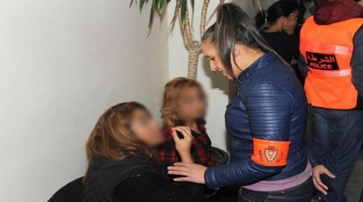 أكادير : حيازة المخدرات والحاق اضرار بملك الغير يوقع فتاتين في قبضة الامن