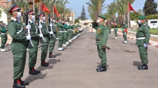 قيادة المنطقة الجنوبية تخلد ذكرى تأسيس القوات المسلحة الملكية 65