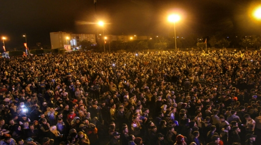 سلطات : حوالي 25 ألف متفرج حضروا سهرة تيميزار في تزنيت
