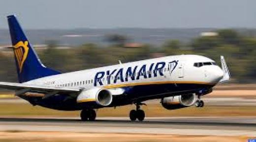 """مسافرون كانوا على متن طائرة """"ريان اير"""" في اتجاه """"مالكا """"عاشو رحلة رعب"""