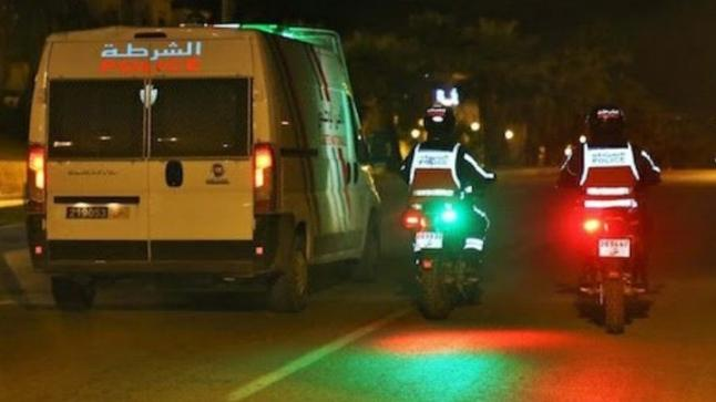 الشرطة تشن حملة أمنية واسعة بشوارع وأزقة آيت ملول