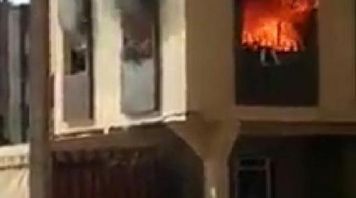 حادث مأساوي.. احتراق طفلة بعد التهام النيران منزل أسرتها بسيدي علال البحراوي