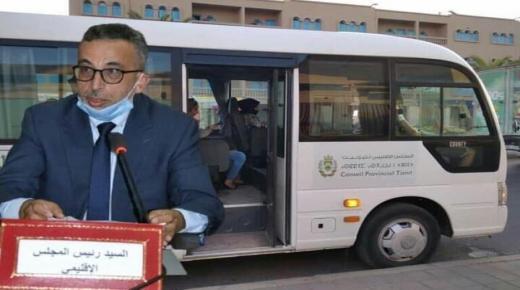 """"""" الغازي """" يوفر حافلات للطلبة من تزنيت نحو أكادير"""