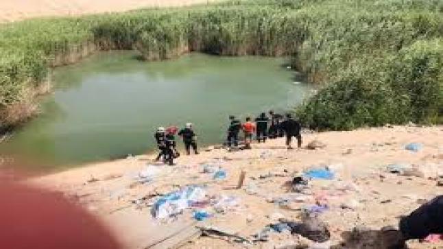 العثور على جثة طفل داخل بركة مائية