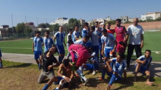 أكادير : فريق إتحاد بوركان لكرة القدم يحقق الصعود للقسم الثاني الممتاز