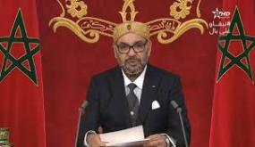 خطاب العرش :تنويه وشكر لكل الفاعلين في مكافحة الوباء واعتزاز ملكي بنجاح المغرب في الحصول على اللقاح