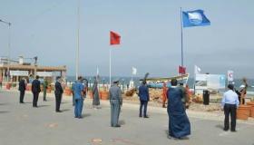 شاطئ أكلو يحصد اللواء الأزرق للمرة العاشرة على التوالي