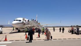 طائرة تحط بمطار وجدة على متنها 106 مغربياً من العالقين بإسبانيا