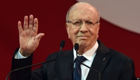 وفاة رئيس الجمهورية التونسية الباجي قائد السبسي