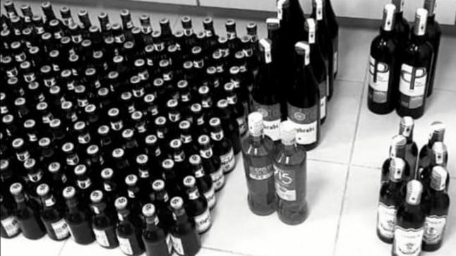 حجز أزيد من 55 ألف قنينة مشروبات كحولية معروضة للبيع بدون رخصة بفاس