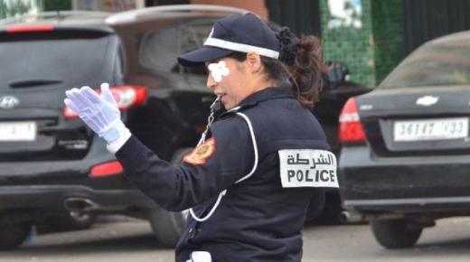 """كورونا تصيب """" شرطية """" بولاية أمن أكادير"""