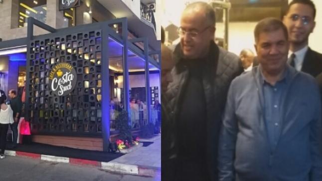 حافيدي يدشن مطعم مشيد على الرصيف العمومي بأكادير