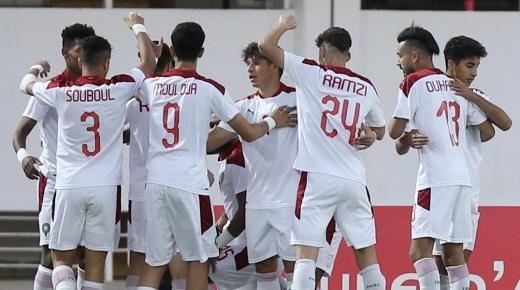 المنتخب المغربي لأقل من 20 سنة في تجمع إعدادي بمدينة السعيدية