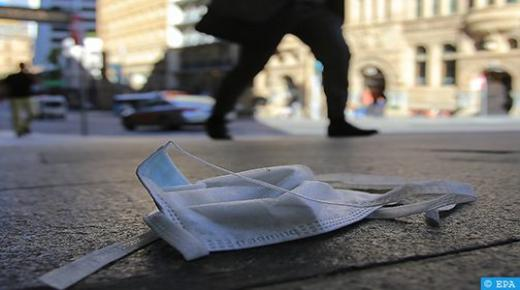 إطلاق حملة تحسيسية حول التخلص من الكمامات الواقية الإجبارية بطريقة سليمة