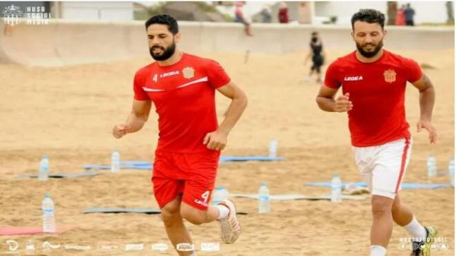 """إستئناف تداريب """" الحسنية """" استعدادا للبطولة الوطنية"""