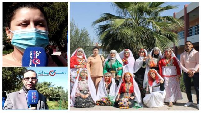 بالفيديو، ثانوية عبدالله الشفشاوني بالتمسية تخلد اليوم العالمي للمرأة