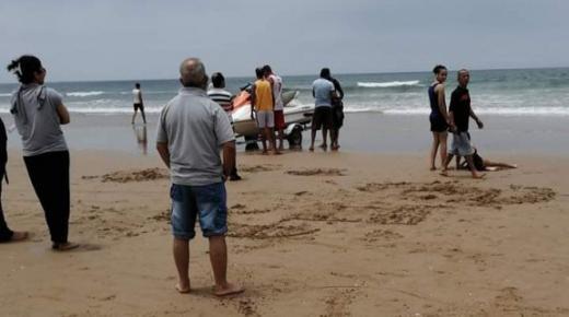 مصرع قاصرين غرقا بشاطئ أكادير
