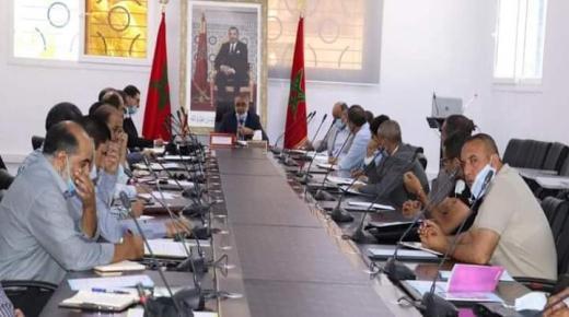 لقاء جهوي لتدارس حصيلة نتائج الموسم الدراسي 2020-2021.