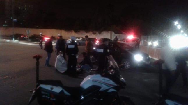 """الاعتداء على """" شرطي مرور """" بمدارة مرجان في أكادير"""