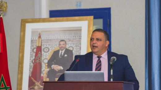 تهنئة السيد عبد العزيز بنضو رئيس جامعة ابن زهر لجلالة الملك بمناسبة عيد العرش المجيد