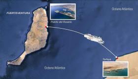 الإفراج عن دفتر تحملات الخط البحري طرفاية وجزر الكناري