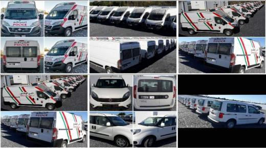 تعزيز مصالح الأمن الوطني بأسطول جديد من السيارات المجهزة (صور)