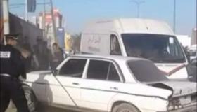 بوليس الدار البيضاء يفك لغز جريمة تعريض حياة سائق طاكسي و رجال الأمن للخطر