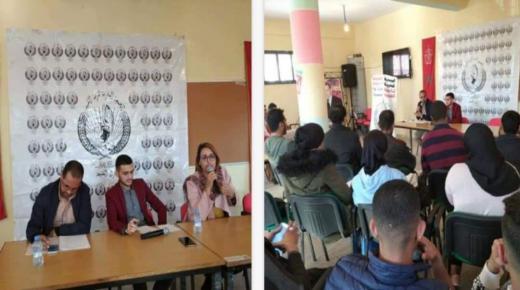 المحاميان فتيحة حجاج وجواد بوزيد يناقشون حقوق الانسان والحريات الفردية بمدينة القليعة
