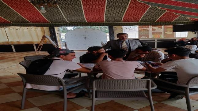 المدير الإقليمي لإنزكان أيت ملول ينوه بخدمة لمؤسسة الأعمال الاجتماعية للتعليم
