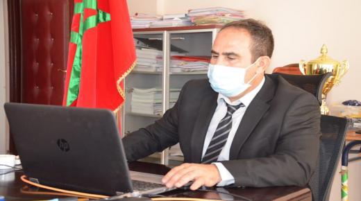 سي محمد بوعزيز عميد كلية العلوم القانونية و الاقتصادية و الاجتماعية بأكادير يهنئ الطلبة و ينوه بمجهودات الاطر التربوية