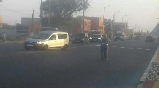 سائق متهور يقتل عاملا في بلفاع