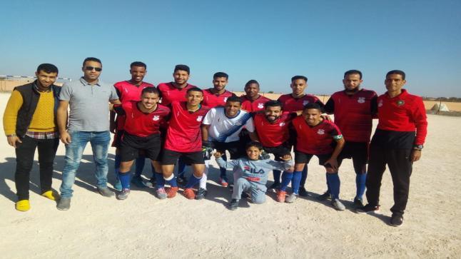 فريق دفاع أمسرنات لكرة القدم يحقق الصعود للقسم الشرفي الأول بعد أعوام عجاف