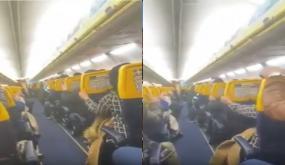 بالفيديو ، رحلة الجحيم عاشها مسافرون مغاربة على متن طائرة تؤمن رحلة من وجدة إلى بلجيكا