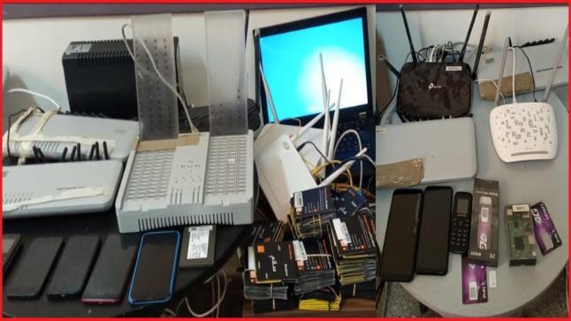 توقيف شبكة إجرامية تنشط في قرصنة المكالمات الهاتفية الدولية وتحويلها