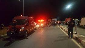 """شاحنة تقتل """" راجلا """" دهسا بطريق آيت عميرة"""