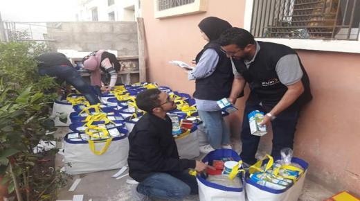 الإيثار توزع مساعدات غذائية على معوزي أكادير